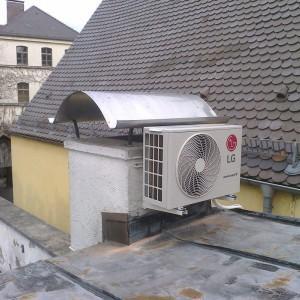 klimatyzacja część na dachu